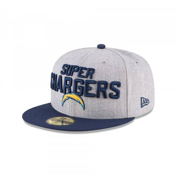 Los Angeles Chargers 2018 NFL Draft 59FIFTY Fitted Cap