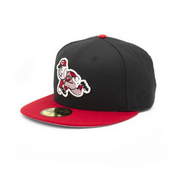 Cincinnati Reds Mr. Red Cooperstown 59FIFTY Fitted MLB Cap