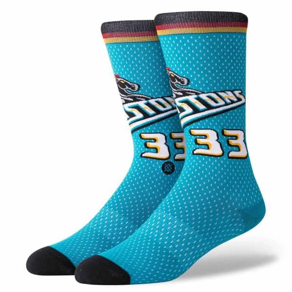 Grant Hill #33 Detroit Pistons 1996 Jersey NBA Socken