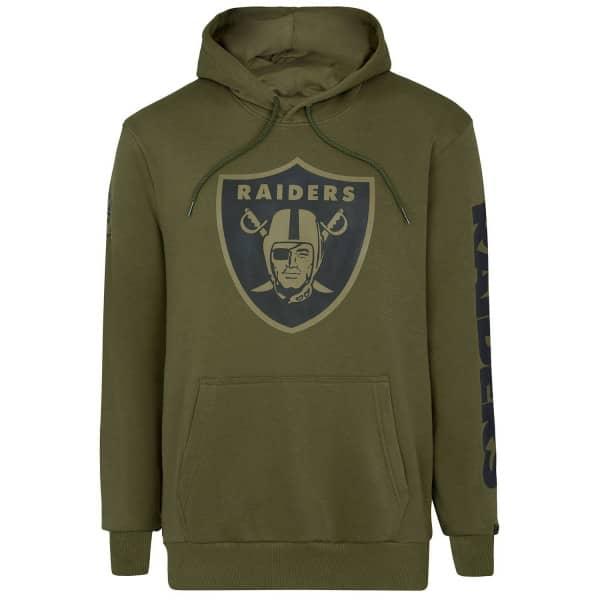 Las Vegas Raiders Camo New Era NFL Hoodie