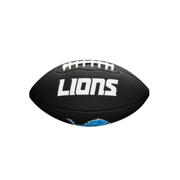Detroit Lions NFL Mini Football Schwarz