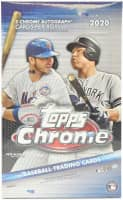 2020 Topps Chrome Baseball Hobby Box MLB