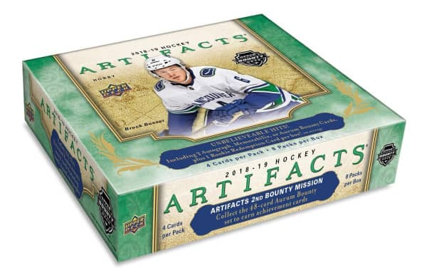 2018/19 Upper Deck Artifacts Hockey Hobby Box NHL