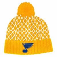 St. Louis Blues 2019/20 Goal Net NHL Pudelmütze
