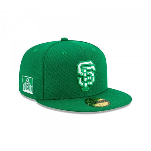 San Francisco Giants 2020 Authentic St. Patrick's Day 59FIFTY Fitted MLB Cap