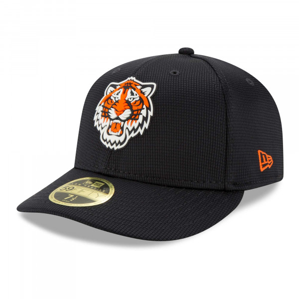 Detroit Tigers 2021 MLB Authentic Clubhouse New Era Low Profile 59FIFTY Cap