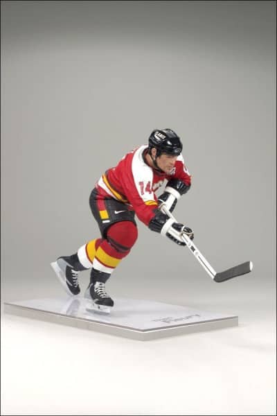 NHL Legends Series 8 Theoren Fleury - Calgary Flames Figur