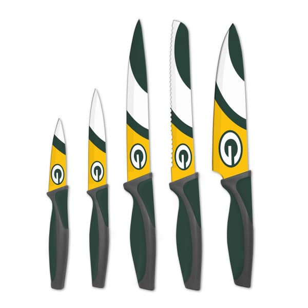 Green Bay Packers NFL 5-teiliges Küchenmesser Set