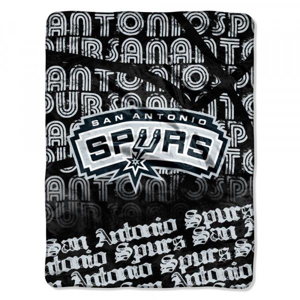 San Antonio Spurs Micro Raschel Super Plush NBA Decke