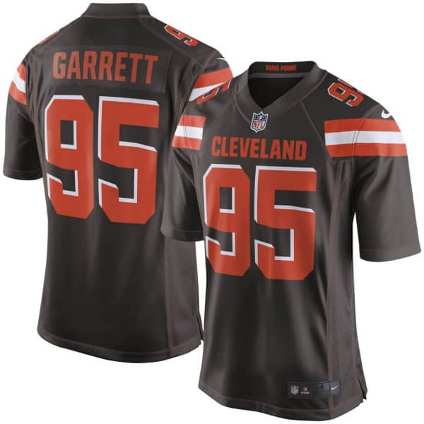 Myles Garrett #95 Cleveland Browns Game Football NFL Trikot