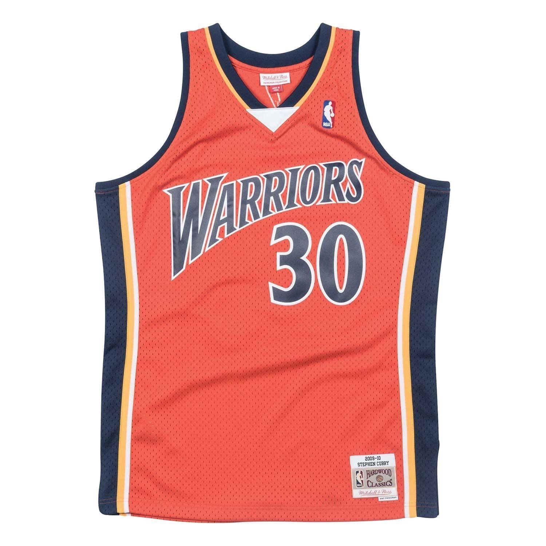 b56e2201f53 Mitchell & Ness Stephen Curry #30 Golden State Warriors 2009-10 Swingman NBA  Jersey Orange | TAASS.com Fan Shop