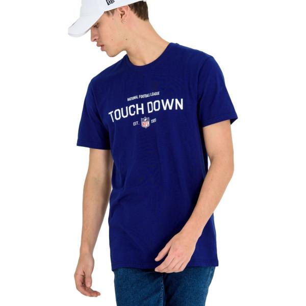 New Era NFL League Slogan Touchdown T-Shirt Blue  2462f53eb