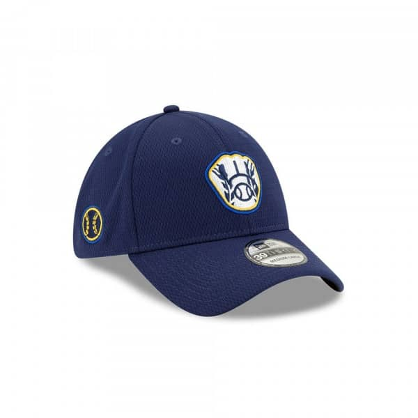 Milwaukee Brewers 2020 Spring Training 39THIRTY Stretch MLB Cap