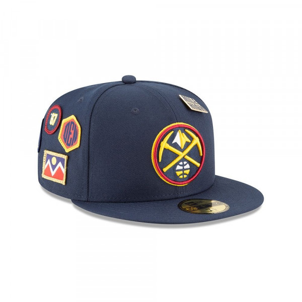 Denver Nuggets 2018: New Era Denver Nuggets 2018 NBA Draft 59FIFTY Fitted Cap