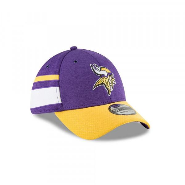 Minnesota Vikings 2018 NFL Sideline 39THIRTY Flex Cap Home