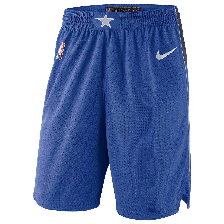 online store 9ada1 5daf1 Nike Dallas Mavericks Icon Swingman NBA Shorts Blue   TAASS.com Fan Shop