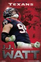 J.J. Watt Houston Texans Roar NFL Poster