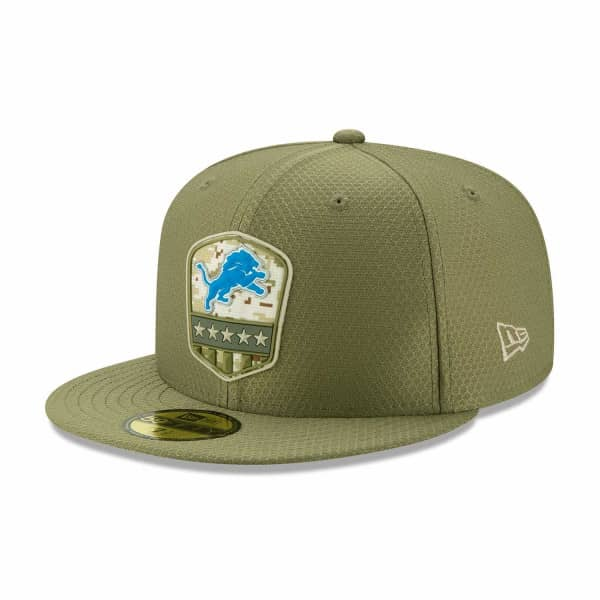 Detroit Lions 2019 On-Field Salute to Service 59FIFTY NFL Cap