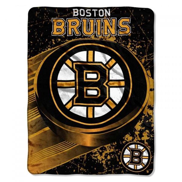 Boston Bruins Micro Raschel NHL Decke
