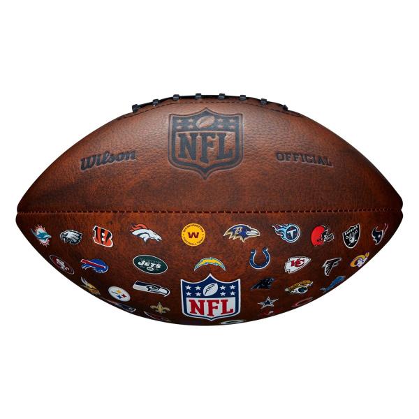NFL Team Logos Throwback Junior Size Football