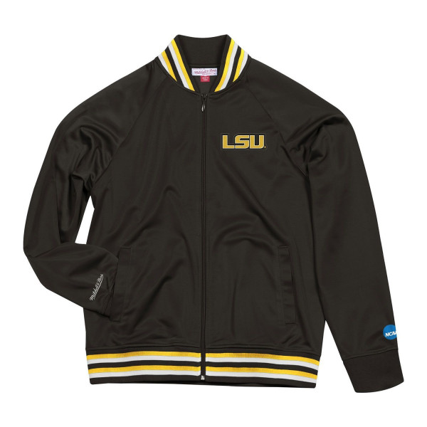 LSU Tigers Top Prospect Mitchell & Ness NCAA Track Jacket