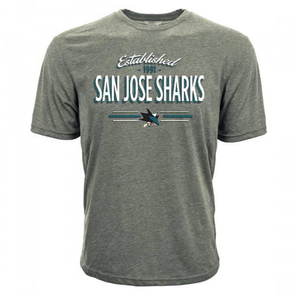 San Jose Sharks Established Crowned NHL T-Shirt