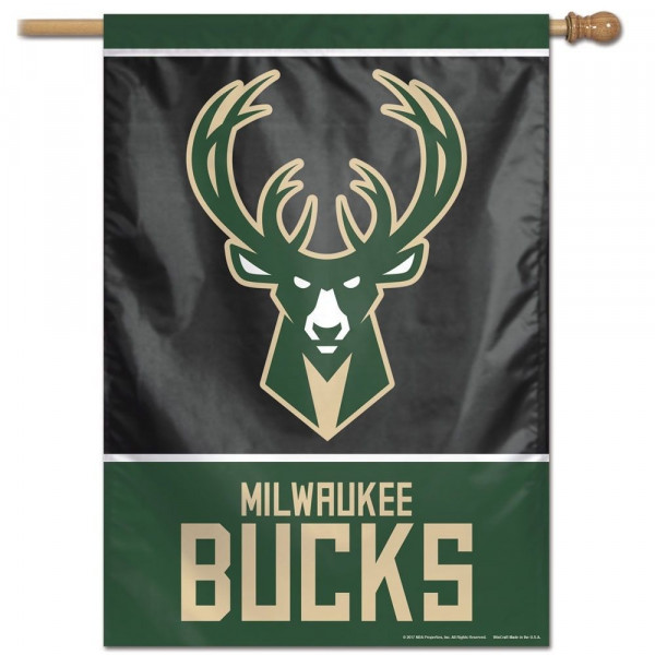 Milwaukee Bucks Vertical NBA Fahne