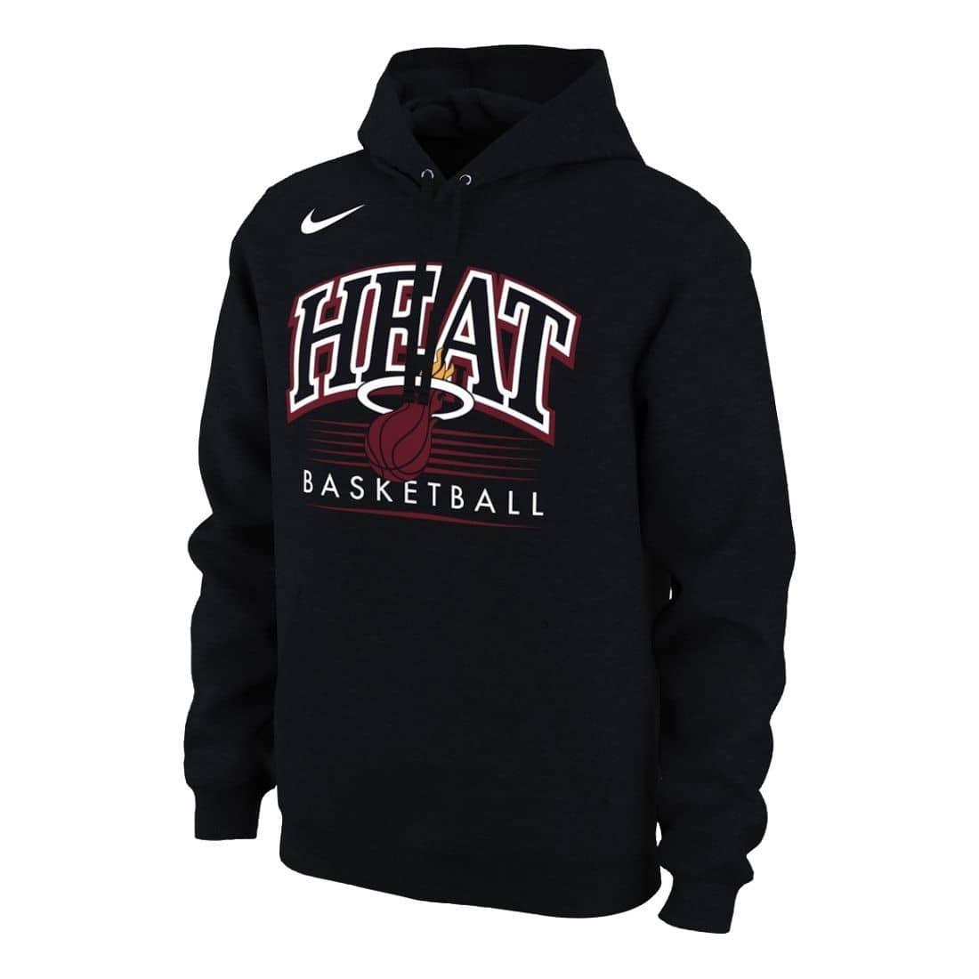 new products 807cc cf2b7 Miami Heat Crest Logo NBA Hoodie
