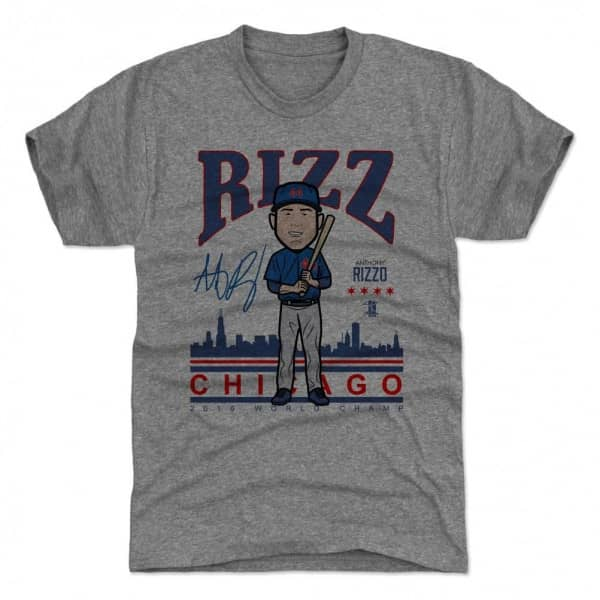 Anthony Rizzo Chicago Cubs Toon MLB T-Shirt