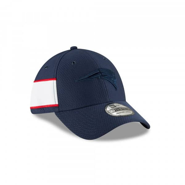 New England Patriots 2018 Color Rush 39THIRTY NFL Flex Cap