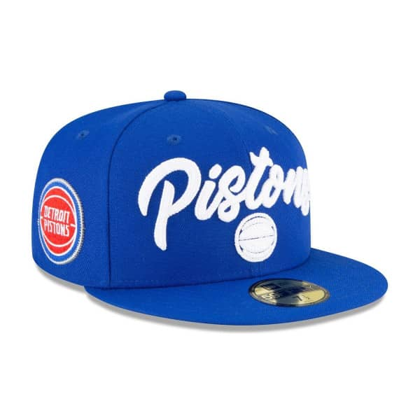 Detroit Pistons Alternate Authentic 2020 NBA Draft New Era 59FIFTY Fitted Cap