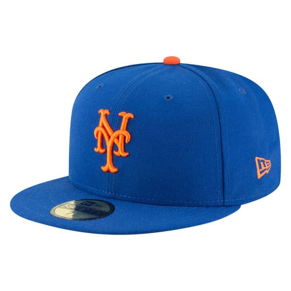 New York Mets Authentic 59FIFTY Fitted MLB Cap Game