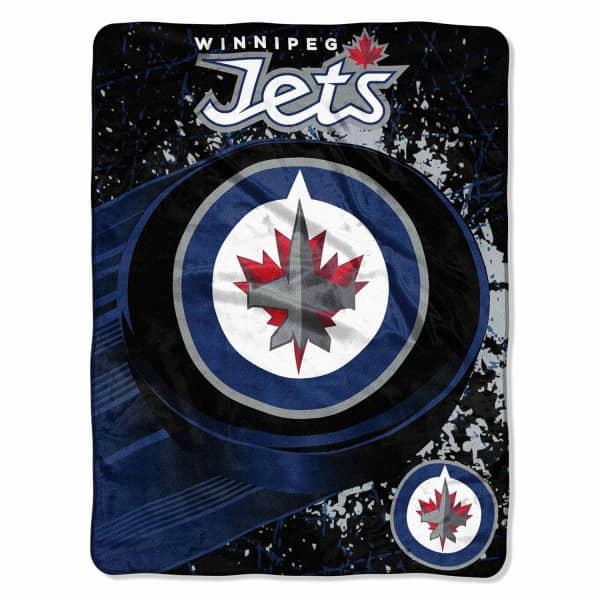 Winnipeg Jets Super Plush NHL Decke