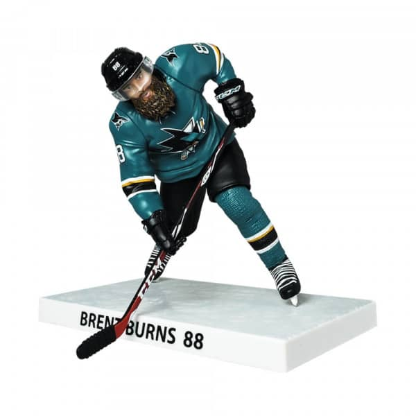 2018/19 Brent Burns San Jose Sharks NHL Figur (16 cm)