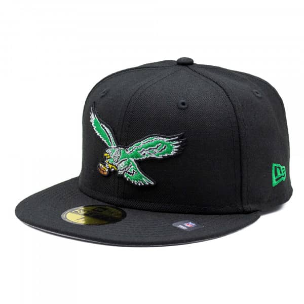 on sale 9c04c c5bce Philadelphia Eagles Throwback Logo 59FIFTY Fitted NFL Cap