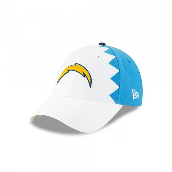 buy online cd632 f3f91 New Era Los Angeles Chargers 2019 NFL Draft 9FORTY Adjustable Cap On-Stage    TAASS.com Fan Shop