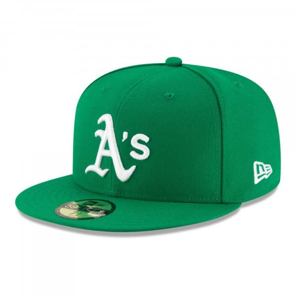 Oakland Athletics Authentic 59FIFTY Fitted MLB Cap Alternate