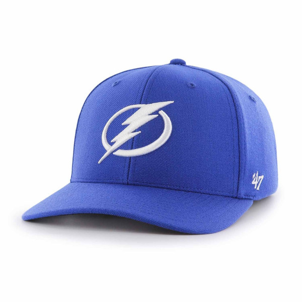 11c952a5b5d17d '47 Brand Tampa Bay Lightning Contender Stretch Fit NHL Cap Blue |  TAASS.com Fan Shop