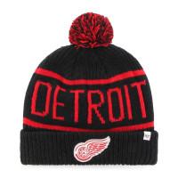 Detroit Red Wings Black Wraparound NHL Wintermütze