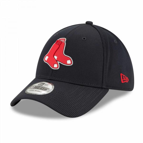 Boston Red Sox 2021 MLB Authentic Clubhouse New Era 39THIRTY Flex Cap