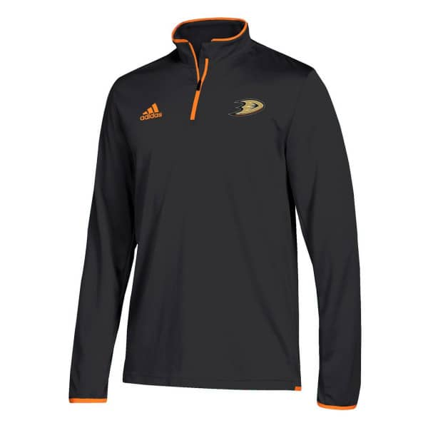 Anaheim Ducks Authentic 1/4 Zip NHL Jacke