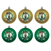 Boston Celtics NBA Weihnachtskugeln Geschenk-Set (6-Teilig)