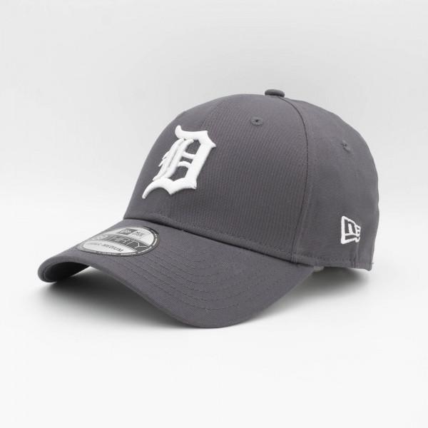 Detroit Tigers League Essential New Era 39THIRTY Flex Fit MLB Cap Grau