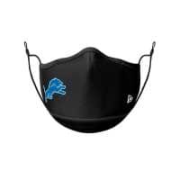 Detroit Lions Official NFL On-Field Face Mask Mundschutz Schwarz