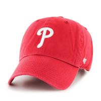 premium selection 19fa4 b5b89 Philadelphia Phillies Clean Up Adjustable MLB Cap Red