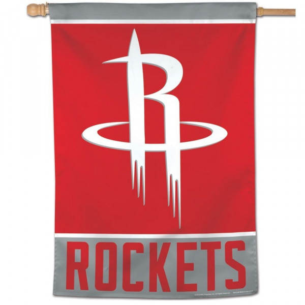 Houston Rockets Vertical NBA Fahne