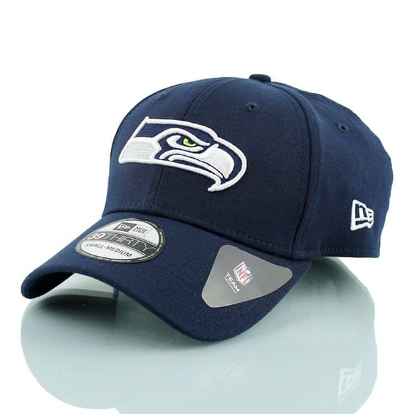 Seattle Seahawks Team Poly Stretch Fit NFL Cap