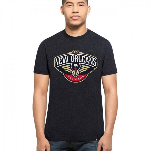 the best attitude 23c1b 52f12  47 Brand New Orleans Pelicans Club NBA T-Shirt Navy   TAASS.com Fan Shop