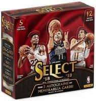2018/19 Panini Select Basketball Hobby Box NBA