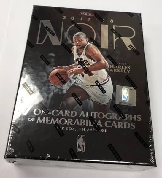 2017/18 Panini Noir Basketball Hobby Box NBA
